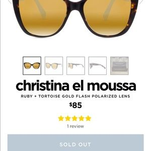 900421babc2 Diff Eyewear Accessories - Christina el Moussa X Diff sunglasses